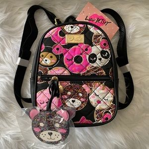 New with tags Betsey Johnson mini backpack